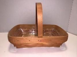 Vintage Longaberger Mother's Day Century Celebration Basket W/ Protector 2000 - $10.00