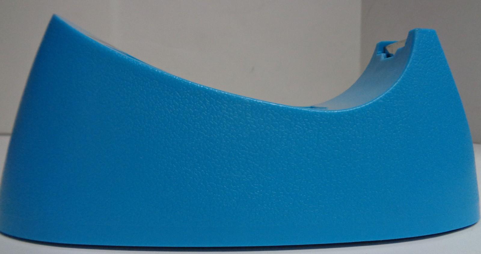 Bazic Office Tape Dispenser NIB Desktop Heavy Duty Blue