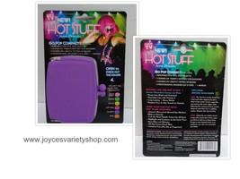 Hot Stuff Eye Shadow Lip Gloss Compact by Jerome Alexander NWT Purple Case - $7.99