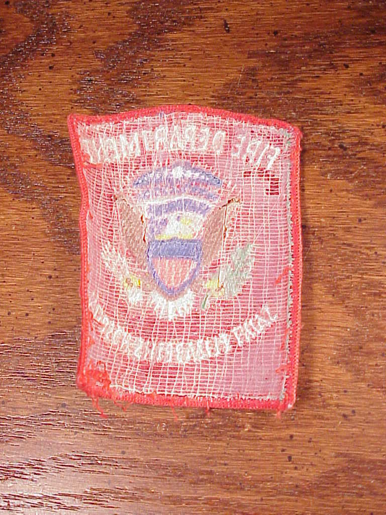 Saint Elizabeth's Hospital Fire Department Patch, Washington DC, FD Dept