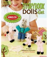 Leisure Arts Storybook Dolls To Knit - $12.49