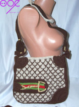 crochet knitting replica gucci bag - $189.00