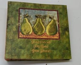 Lang Good Pears Recipe Card Organzier // Recipe Book  - $16.00