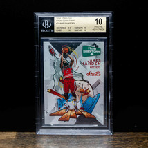 2016-17 James Harden Panini Studio From Downtown #FD2 Rockets SP BGS 10 ... - $272.25
