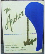 Yearbook THE ANCHOR Company 59-599 US Naval Training Center San Diego, CA - $30.00