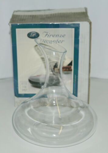 Epic 132105 Firenze Angular Mouth Decanter 44 FL OZ Color Clear