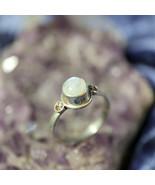 White Energy Magick Magnet Moonstone Ring Draws Good Luck & Blessings! - $59.99
