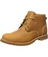 Timberland Mens Larchmont Waterproof Chukka Wheat Nubuck Leather Boots 9 US - $138.50