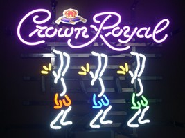 "New Crown Royal Whiskey Dancer Beer Pub Bar Neon Light Sign 20""x16"" - $123.00"