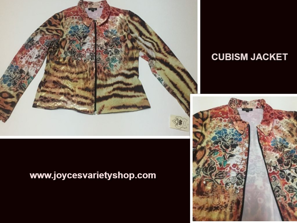 Cubism jacket web collage