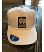 ADIDAS Originals Relaxed Base Hat Cap Thrasher Strapback White Gold Logo... - $18.32