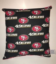 49ers Pillow NFL Pillow San Francisco 49ers Pillow Football Pillow HANDM... - $9.97