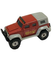 Tonka Funrise Jeep Diecast Red Metal Truck 4 X 4 Toy 2012 Car Hot Wheels - $11.87