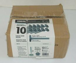 "IDEAL Security Garage Door Roller-2"" Steel Wheels Ball Bearings (10-Pack... - $19.79"
