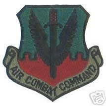 Usaf Air Force Air Combat Command Acc Od Patch - $18.04