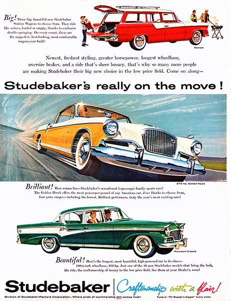 Primary image for 1956 Studebaker - Promotional Advertising Poster