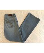 Calvin Klein CK Distressed Flare Blue Jeans Size 6 (30 x 31) - $7.95