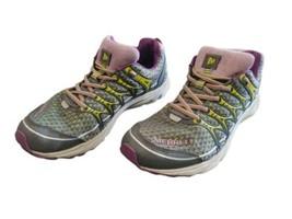 Merrell Mix Master Move Glide Women's Size 8 Purple Yellow Running Shoes J48820 - $30.40