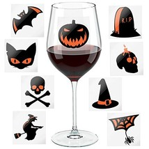 Halloween Party Wine Glass Markers - Fun Decoration Props - Wine Charms - $15.68