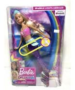 Barbie Dreamtopia Sparkle Lights Mermaid Blonde with Pink Hair NIB - $18.80
