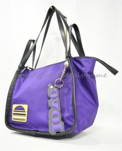 NWT Marc Jacobs M0014335 Nylon and Leather Sport Tote in Eggplant - $179.00