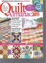 Quilt Almanac 2011 Magazine (Learn To Quilt Today, October 2011) [Single Issue M