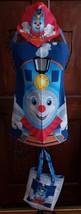 Thomas the Tank Engine/Child Lined Cotton Apron w/Kerchief & Bookbag - Child Lrg - $14.99