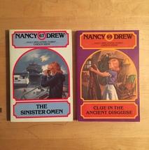 1970s/80s Nancy Drew Mystery Stories Books by Carolyn Keene image 5