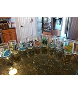 Lot of 9 Vintage Welch's Jelly Jar Glasses Assorted Collectibles Fun Kids - $64.95