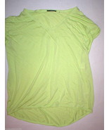 New Womens NWT $78 Tahari Clara Top Lime Sorbet... - $46.80