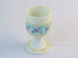 Lladro Ceramic Wine Chalice; Issued 1984, Retired 1989, Made in Spain, BEAUTIFUL - $97.95
