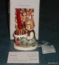 """""""Birthday Cake"""" Goebel Hummel Figurine #338 TMK6 Great Gift With Box + Candle! - $72.74"""