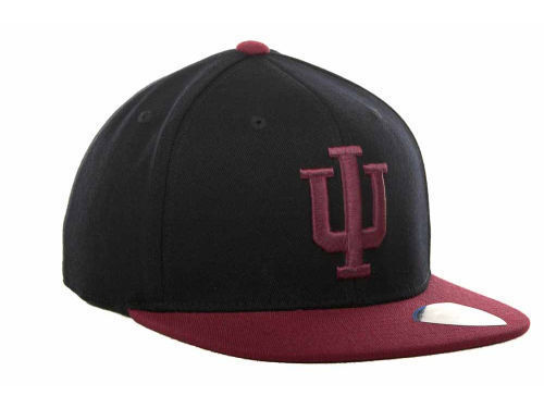 sports shoes d0178 8619f ... low cost hat indiana hoosiers ncaa tow slam flat bill stretch 08727  bb1c1