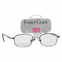 Foster Grant Fashion Oval Metal Reading Glasses +1.25 Spencer - $19.99