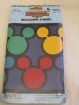 Vtg Mickey & Friends Decorative Border 8.4 Feet Scrapbook Accent Mickey ... - $8.90