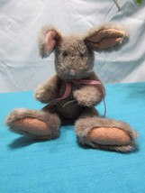 """J B Bean Bunny Rabbit Easter Stuffed Animal Toy Investment Collectible 10""""  Boyd - $19.82"""