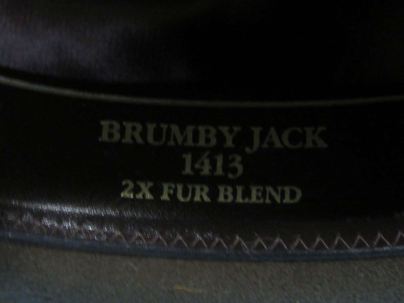 Outback Trading Company Brumby Jack 1413 2x Fur Blend Hat Size 7   Made in USA