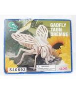 Gadfly wooden 3-D puzzle pre cut pieces - $4.95