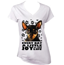 Chihuahua Black 1  A Little Joy    New Graphic T Shirt   S M L Xl Xxl - $25.79