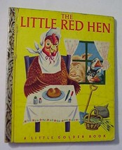The Little Red Hen Ill by Rudolf Little Golden Book 1942,13th Ed Simon S... - $25.00