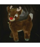"18"" VINTAGE RUDOLPH THE RED NOSED REINDEER APPLAUSE STUFFED ANIMAL PLUSH TOY   M - $26.65"