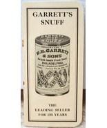 Garrett's Snuff 1940 Advertising Piece LIKE NEW Memphis Tenn - $1.00
