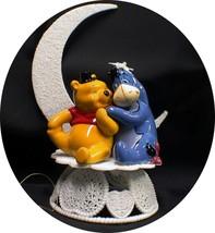EEYORE Bride & Winnie the Pooh Groom Wedding Cake Topper Horse top - $44.35