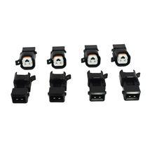 A-Team Performance EV1 To EV6 LS Fuel Injector Adapter LS2 LS3 LSX LT1 (8 Pack) image 5