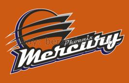 Phoenix Mercury WNBA 3'x5' orange Flag Diana Taurasi Brittney Griner USA... - $25.00