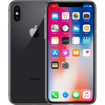 Apple iPhone X 256GB Mobile Smart iOS phone Space Gray Black Unlocked A1901 A image 2