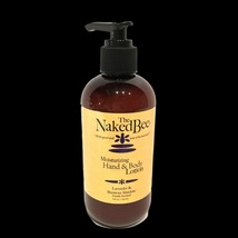 The Naked Bee Lavender & Beeswax Moisturizing Hand Body Lotion 8.0 oz Pu... - $14.78