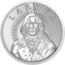 1 oz Silver Lakota Crazy Horse Round (New) - $40.00
