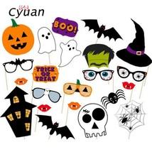 Cyuan Halloween  Decoration Prop Photo Props Foil Balloons Spider Bat Pu... - €1,70 EUR+