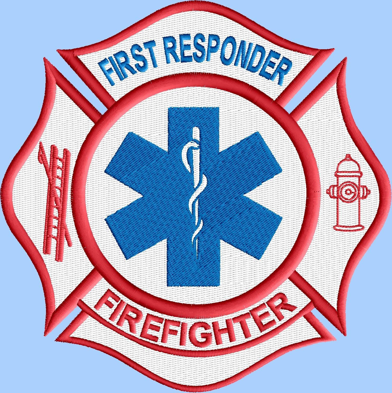 Emt First Responder Firefighter Logo 3 Size And 22 Similar